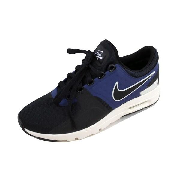 Nike Women's Air Max Zero Black/Black-Ivory-Binary Blue 857661-004
