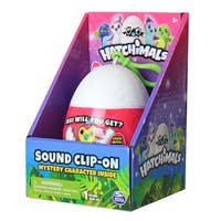 Hatchimals Sound Clip On Mystery Character Inside 1 Plush Inside