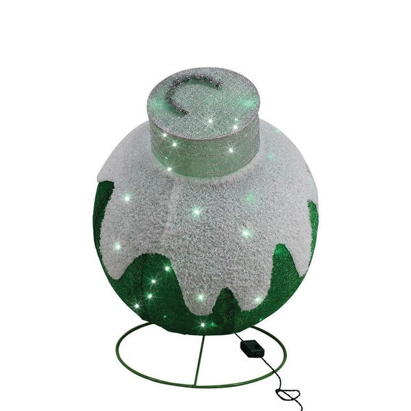 Shop Sylvania V54360-71 Illuminet Christmas Led Ornament Yard Art  Mesh  Green