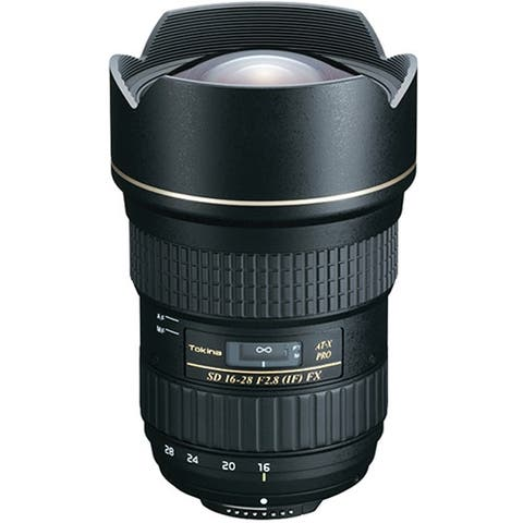 Tokina AT-X 16-28mm f/2.8 Pro FX Lens for Canon - Black