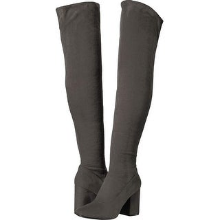 4f22ed701f9 Shop Marc Fisher Womens Praye Closed Toe Knee High Fashion Boots - Free  Shipping Today - Overstock - 24303175