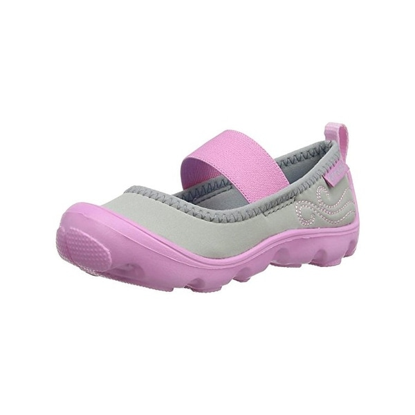 a2c3923ce3fb1 Shop Crocs Girls Duet Busy Day Mary Janes Textured - 6 medium (b