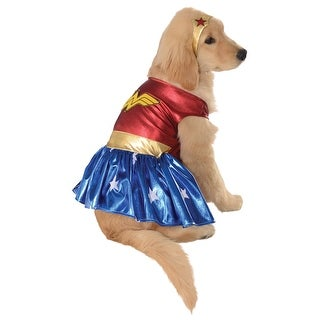 Wonder Woman Pet Costume (3 options available)
