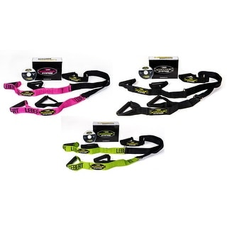 Lebert Fitness Buddy System - Training Straps - Home Gym Bodyweight Workout Kit