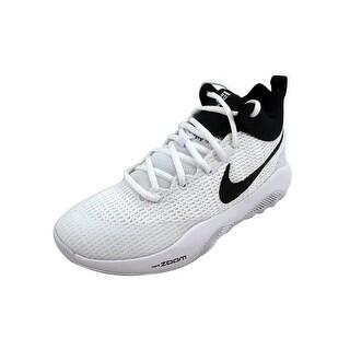 Nike Men's Zoom Rev TB White/Black 922048-100 Size 3.5