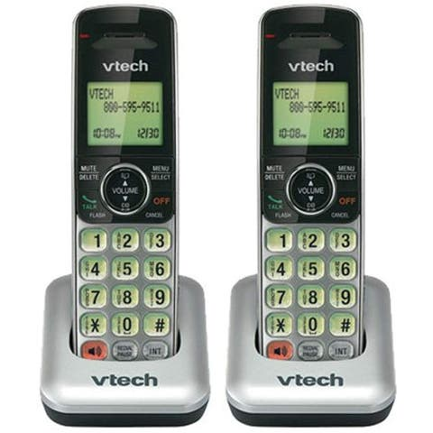 VTech CS6609 (2-Pack) Accessory Handset w/ Backlit LCD Display