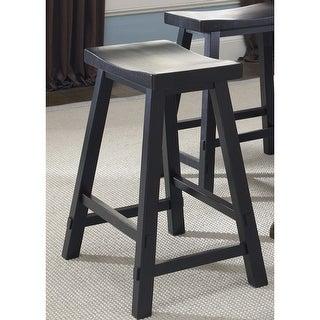 Link to The Gray Barn Mendosa Black Sawhorse Bar Stool Similar Items in Dining Room & Bar Furniture