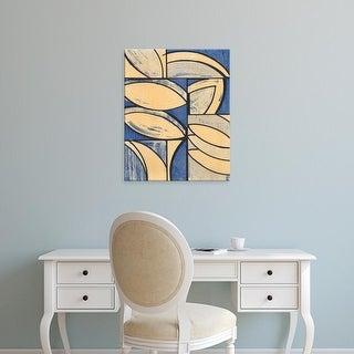 Easy Art Prints Charles McMullen's 'Indigo Complement III' Premium Canvas Art