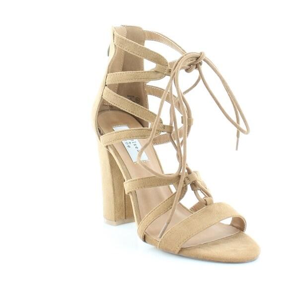 Chelsea & Zoe Elyse Women's Sandals & Flip Flops Camel - 8.5