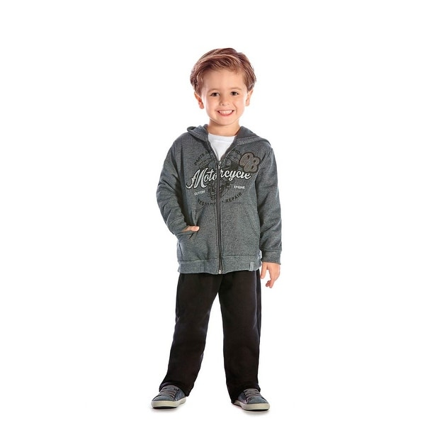 Toddler Boy Outfit Hoodie Sweater Jacket and Pants 2pc Set ...