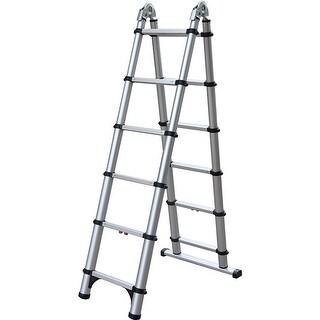 Telesteps 612TC OSHA Compliant 6 ft A-frame/12 ft Extension Telescoping Combi Ladder