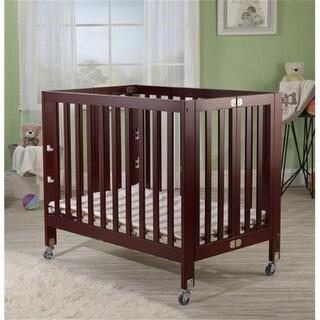 Orbelle Trading 1166C Roxy Three Level Portable Crib, Cherry