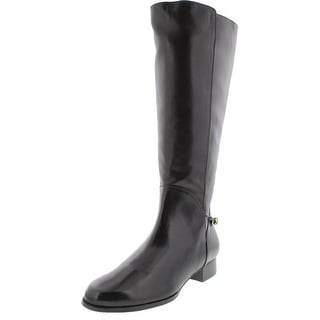 Rose Petals by Walking Cradles Womens Adina Leather knee-High Riding Boots