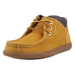 Timberland Grvtn Mtc Youth Square Toe Leather Brown Chukka Boot