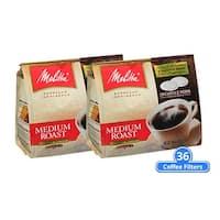 Melitta 75448 Soft Coffee PodsMedium Roast (2-Pack) Soft Coffee Pods Medium Roast 18 Counts