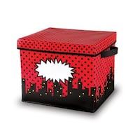 Superhero Storage Bins Box 12X12.5X10.5