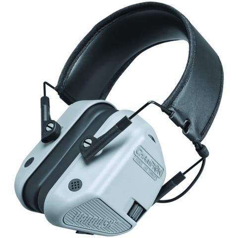 Champion(R) 40978 Vanquish Electronic Hearing-Protection Muffs (Gray)