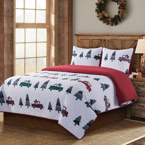 Country Living Vintage Truck Quilt Set