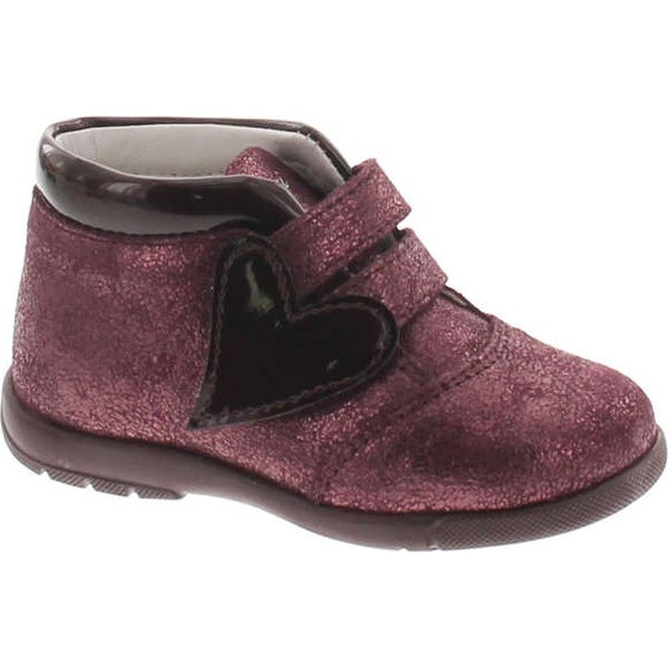 Primigi Girls 8017 Fashion Heart Booties - bordo