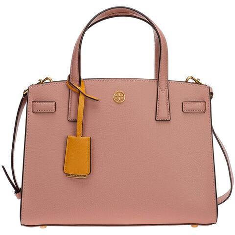Tory Burch Walker Small Satchel Pink Moon One Size