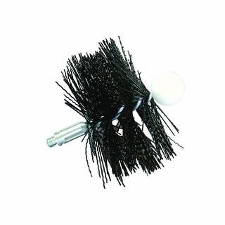 "Rutland Worcester PS-4 Pellet Stove Vent Brush, Round, 4"""" D"""