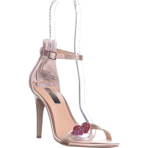 INC International Concepts Womens Rayelle Fabric Open Toe Ankle Strap D-orsay...