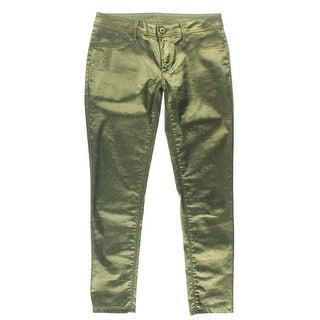 DL1961 Womens Emma Metallic Patch Pockets Leggings - 24