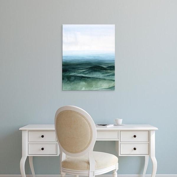 Easy Art Prints Grace Popp's 'Plane View II' Premium Canvas Art