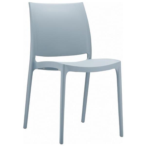 Maya Chair (Set of 2) - Silver Grey