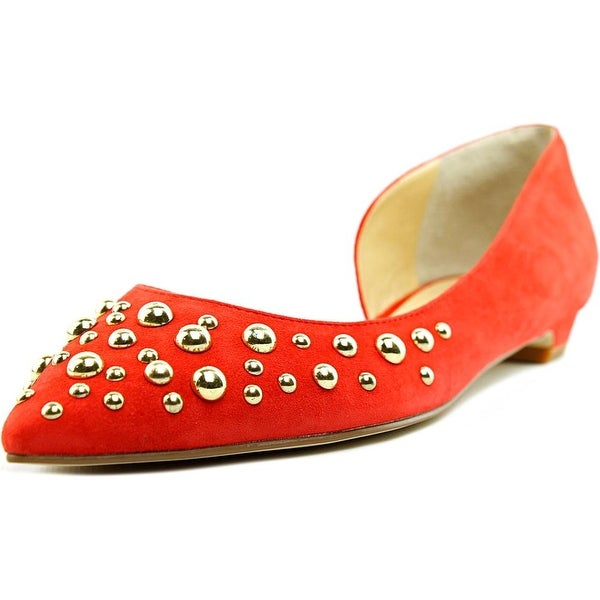 Ivanka Trump Tappin 2 Pointed Toe Suede Flats