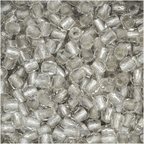 True2 Czech Fire Polished Glass, Faceted Round 2mm, 50 Pieces, Crystal Silver Lined
