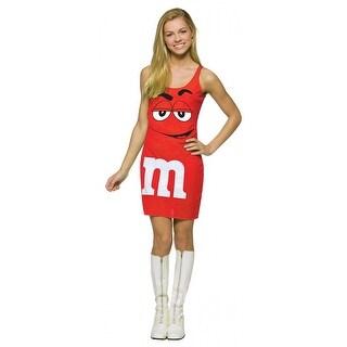M&M Red Tank Dress
