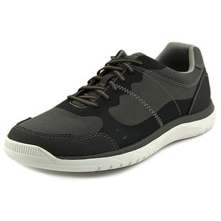 Clarks Votta Edge Men Round Toe Leather Sneakers