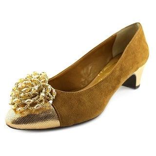J. Renee Rashana  W Round Toe Suede  Heels