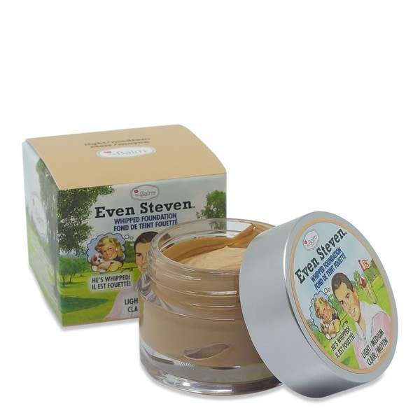 theBalm Even Steven Whipped Foundation - Light/Medium