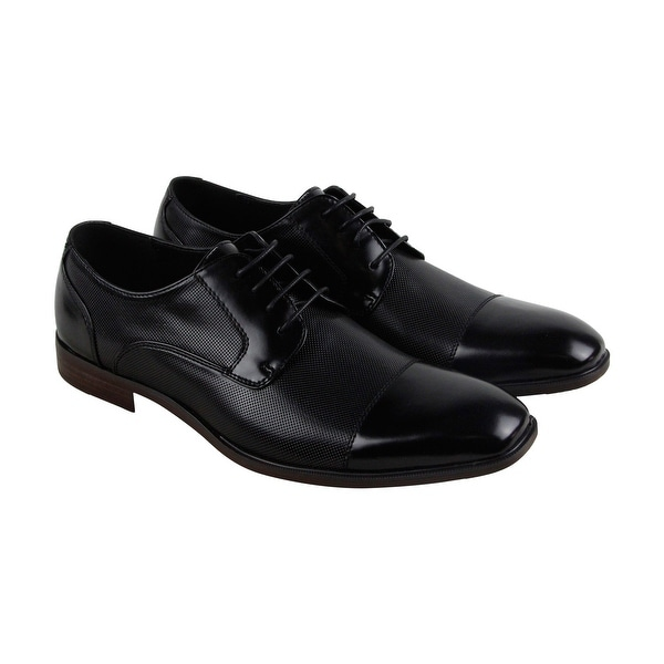 Unlisted by Kenneth Cole Dinner Party Mens Black Casual Dress Oxfords Shoes