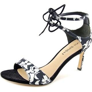 Via Spiga Skylar Open Toe Canvas Sandals