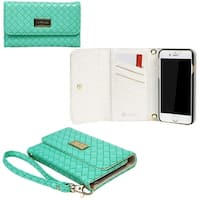"JAVOedge Weaving Clutch Wallet Case with Matching Wristlet for Apple iPhone 6 Plus (5.5"")"