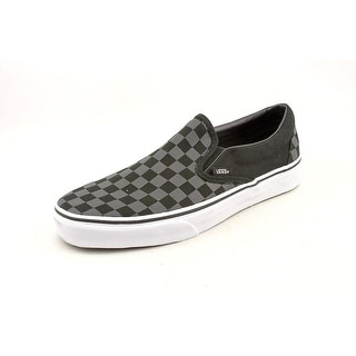 Vans Classic Slip-On Round Toe Canvas Skate Shoe
