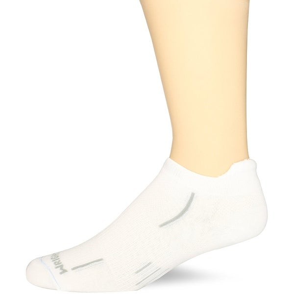 WrightSock Men's Dry Feet Double Layer Stride Tab Sock 1-Pair - Medium