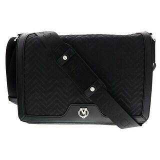 Versace EE1YSBB11 E899 Black Messenger Bag - 13-10.5-4.25