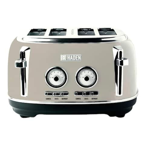 Haden Dorset Stainless Steel 4-Slice Toaster