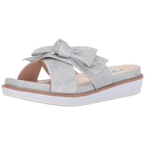 Nina Womens Garda Open Toe Casual Slide Sandals