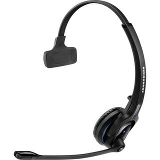 """Sennheiser MBPro1 Sennheiser MB Pro 1 Headset - Mono - Wireless - Bluetooth - 82 ft - 150 Hz - 15 kHz - Over-the-head -"