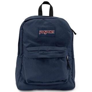 JanSport T501 SuperBreak Authentic School Backpack - OS (T501003 Navy)