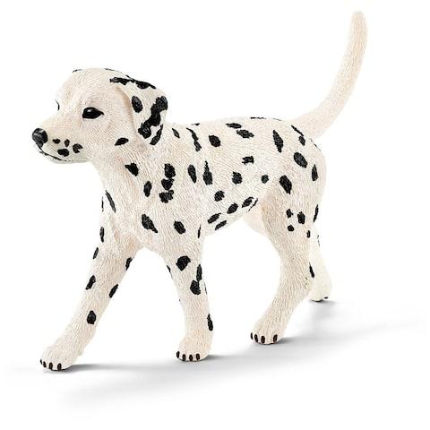 Schleich 16838 Male Dalmatian Toy Figure, Black & White