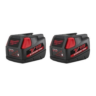 Replacement 2000mAh Battery for Milwaukee 2715-20 / 2758-22CT / 2899-22 Power Tools (2 Pk)