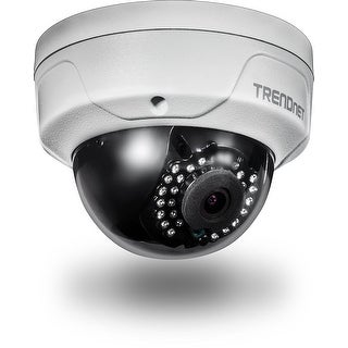 Trendnet Indoor/Outdoor 4 Megapixel Hd Poe Ir Dome Style Day/Night Network Camera, Digital Wdr, 2688 X 1520P, Ik10 Vanda