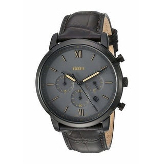 Link to Fossil Man's FS5579 Neutra Brown Leather Chronograph Watch - 1 Size Similar Items in Men's Watches