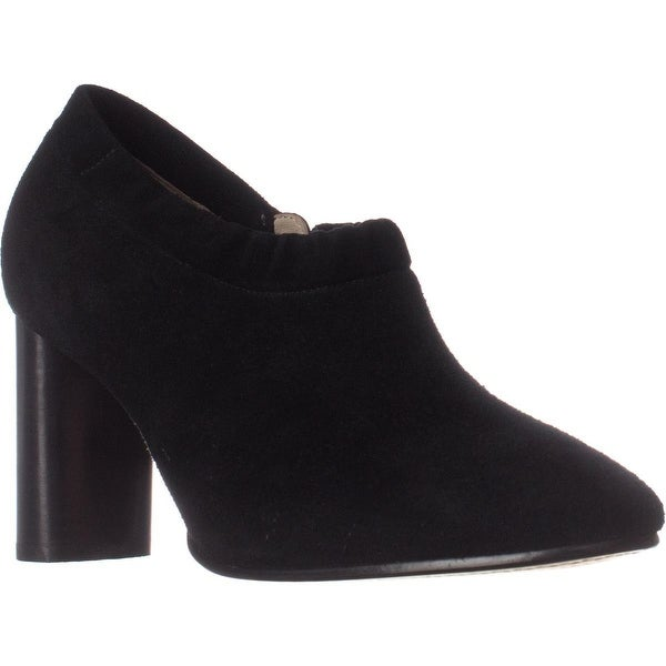 Clarks Grace Lola Block Heel Booties, Black